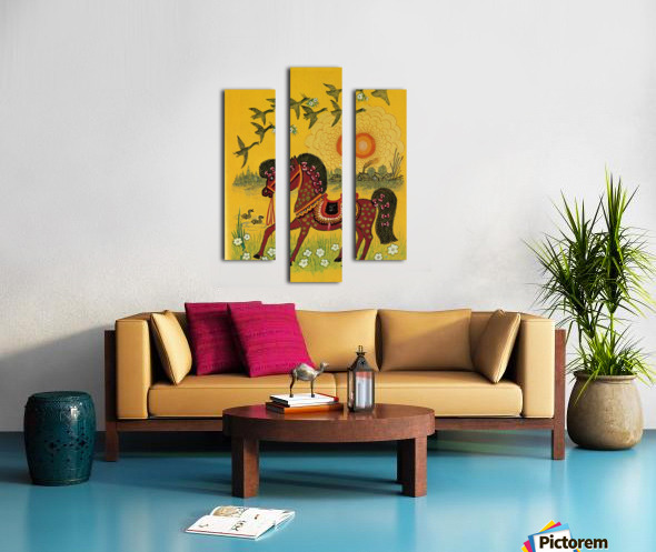 Vasnetsov horse Canvas print