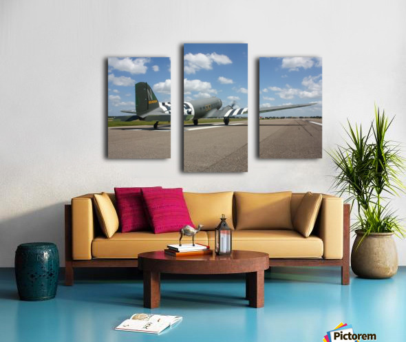 Sun N Fun C-47 Canvas print