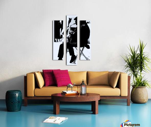 Busker II Canvas print