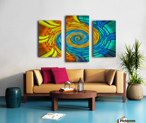 Magic Swirl Canvas print