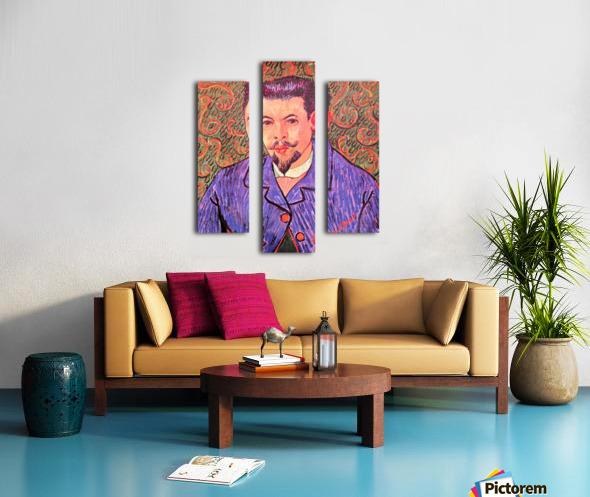 Portrait of Dr. Rey by Van Gogh Canvas print
