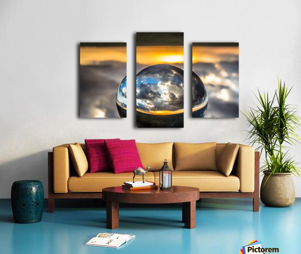 Lens Ball7 Canvas print