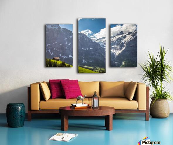 Hut Overlook Canvas print