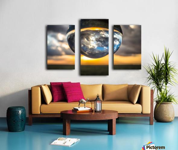 Lens Ball3 Canvas print