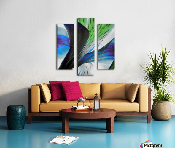 Vibrant Iris Canvas print