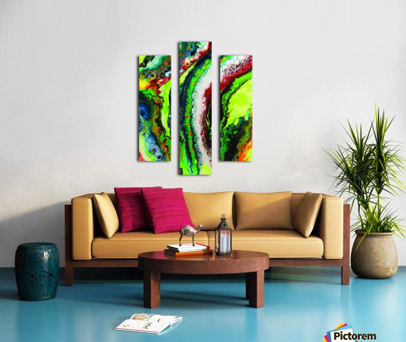 Fresh Earth  Canvas print