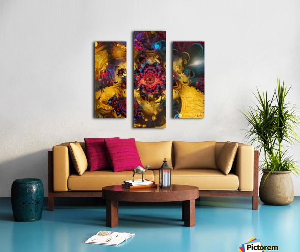 Colorful Fantasy Canvas print