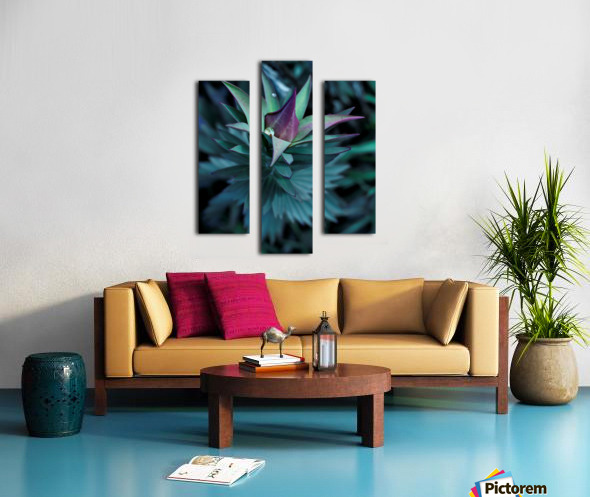 Funky flora Canvas print