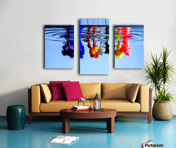 dribbles Canvas print