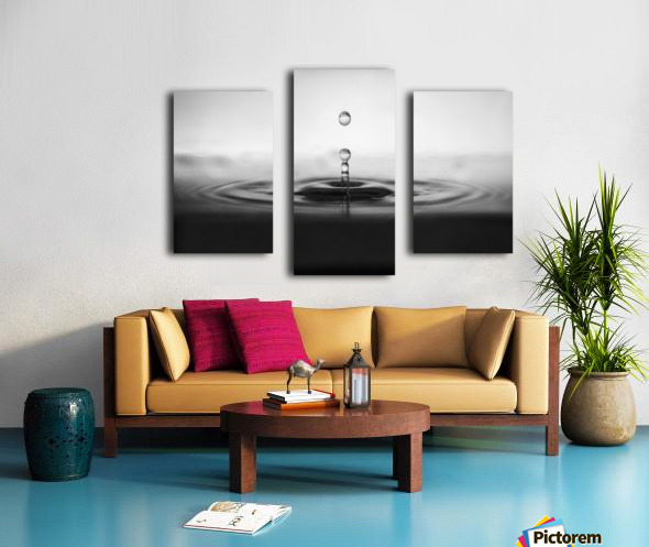 plop Canvas print