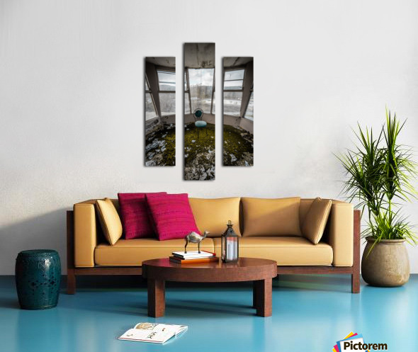 Abandoned Ski Resort Canvas print
