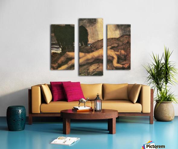 Prometheus by Franz von Stuck Canvas print