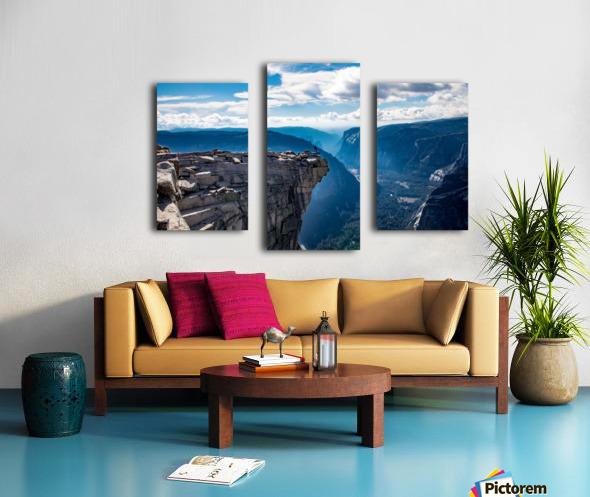 Top of Half Dome Canvas print