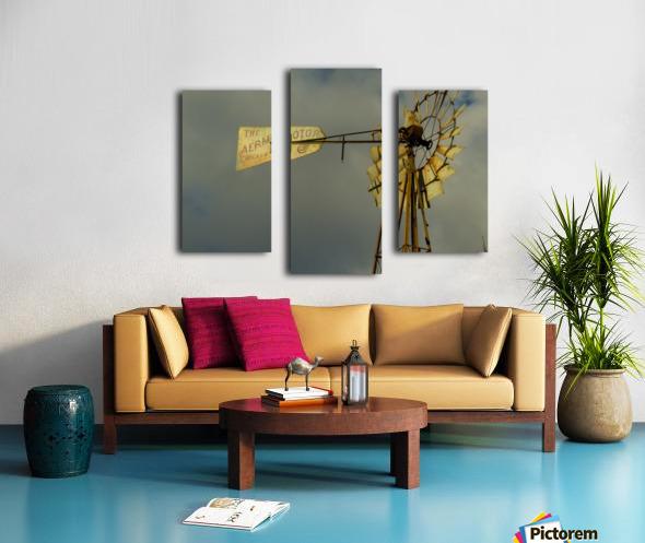Aeromotor Windmill Canvas print