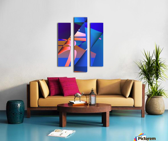 origami PII 12.9a3 18 Canvas print