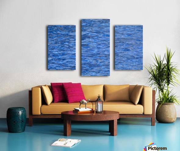 water, blue, structure, nature, wave, swimming pool, swim, liquid, Canvas print