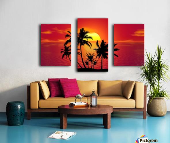 tropical 1651423 Canvas print