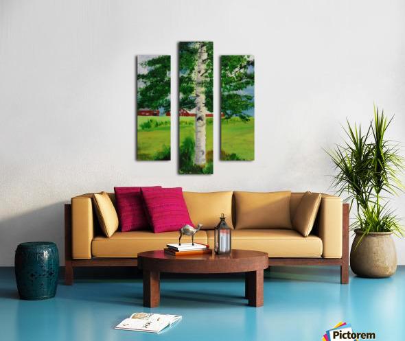 Kuopio Farmhouse Canvas print