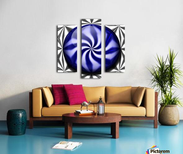 Twisted Mint Canvas print
