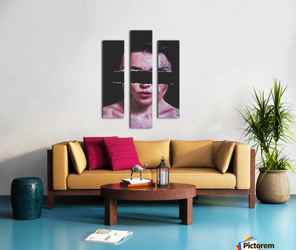 Blind Beauty Canvas print