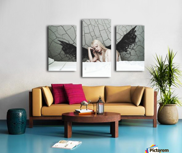 Find Me In The Cracks Canvas print