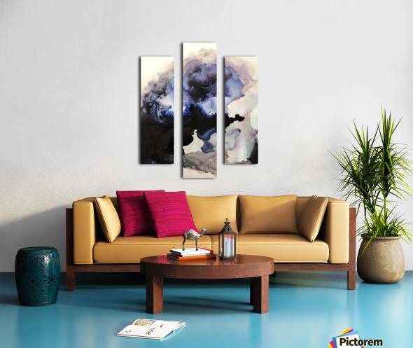 Electric Sky Canvas print
