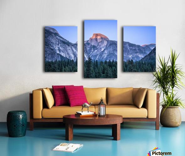 Half Dome Sunset Yosemite National Park Canvas print