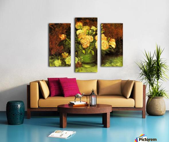 Roses by Van Gogh Canvas print