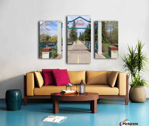 Red Willow Trail Canvas print