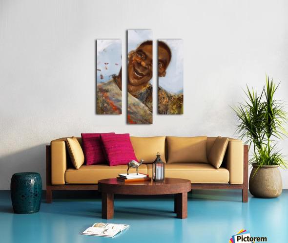 Boyo-Boyo Canvas print