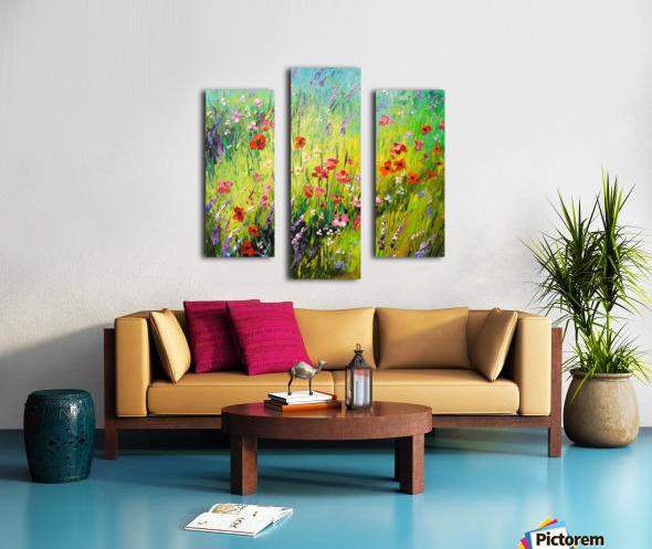 Meadow flowers Canvas print