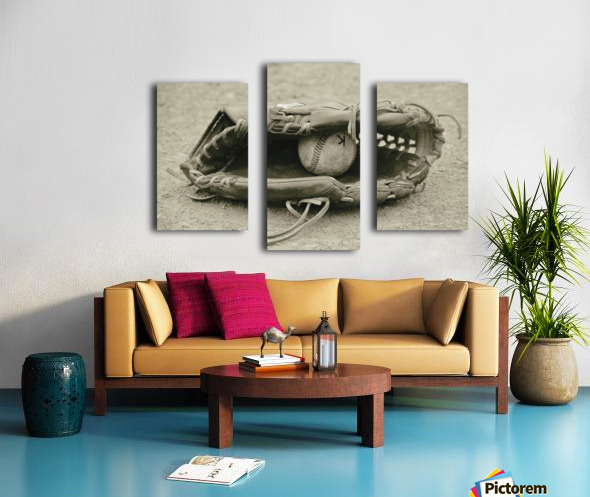 First Love 3 in Sepia Canvas print