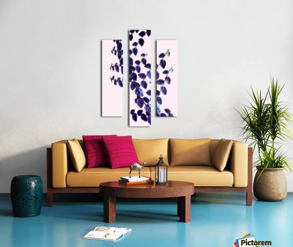 Bindweed in Violet Canvas print