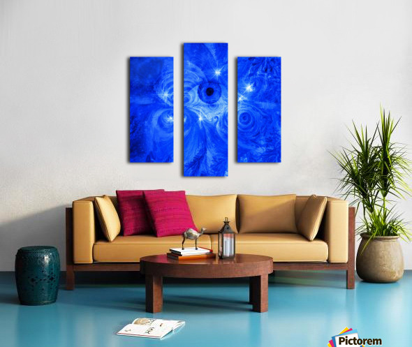 Eye and Stars Canvas print