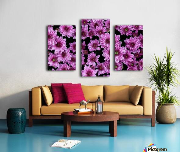 Purple flowre Canvas print