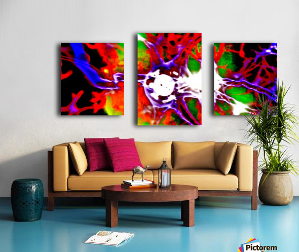Inside DNA by neil gairn adams  Canvas print