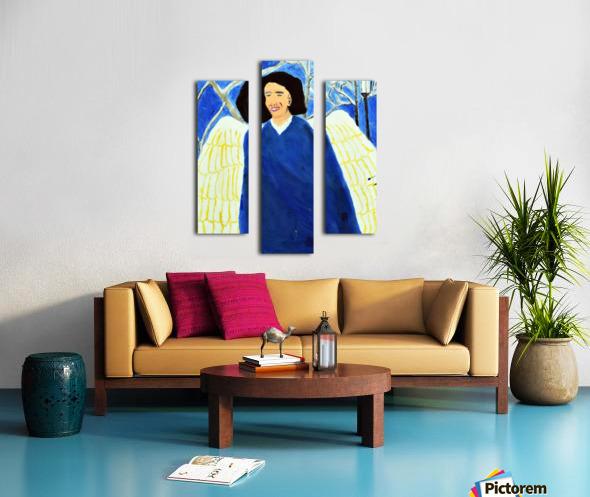 Angel. Kelly R Canvas print