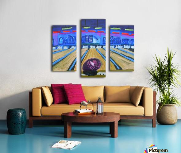 Bowling Alley. David K Canvas print