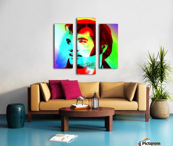 Elvis -Always on my Mind by Neil Gairn Adams Canvas print