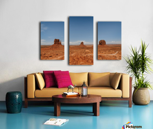 Monument Valley Impression sur toile