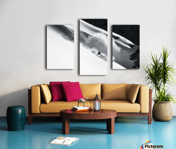 Cloud of Snow Canvas print