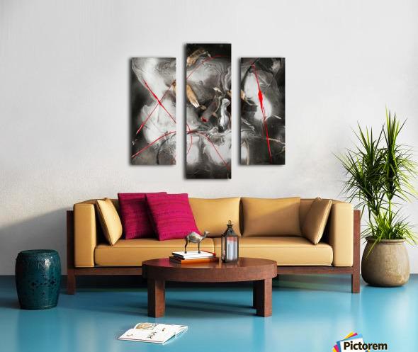 3208 - hot n spicy Canvas print