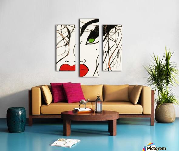 3280 Canvas print