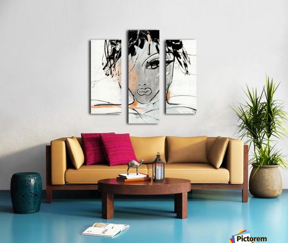 3457 Canvas print