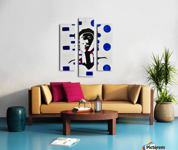 Kate C. Mirror Canvas print