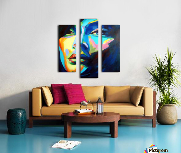 DESIRES AND ILLUSIONS PAINTING Canvas print