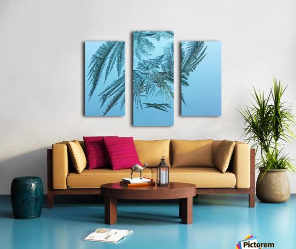 Frosty Blue Canvas print
