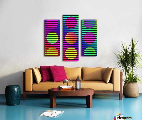 Disco Time - by Neil Gairn Adams Canvas print
