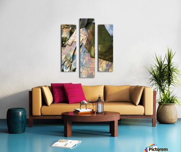 Colorful Slate Canvas print