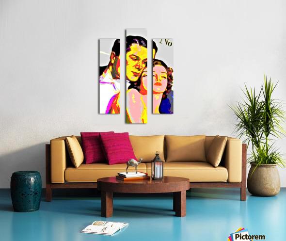 Voulez Vous Couchez Avec Moi - by Neil Gairn Adams Canvas print